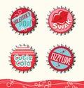 Retro valentine designs