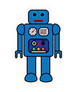 Retro Vector Robot Royalty Free Stock Images