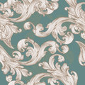 Retro vector wallpaper pattern with swirl element