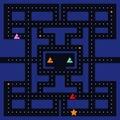 Retro video game square