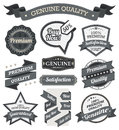 Retro Vintage Badge, Label and Banner Set Royalty Free Stock Photo
