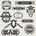 Retro Vintage Insignias or Logotypes