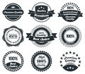 Retro Vintage Label collection Royalty Free Stock Photos