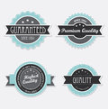 Retro vintage labels Royalty Free Stock Image