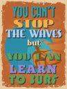 Retro Vintage Motivational Quo...
