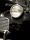 Retro Vintage Old Black Classic Car Royalty Free Stock Photography