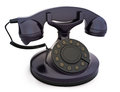 Retro vintage telephone Royalty Free Stock Image