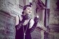 Retro Woman 1920s - 1930s Royalty Free Stock Photo
