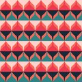 Retro zigzag seamless pattern eps Royalty Free Stock Photo