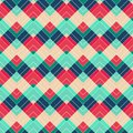 Retro zigzag seamless pattern eps Royalty Free Stock Photography