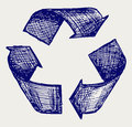 Reuse symbol Stock Photography