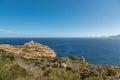 Revellata lighthouse near Calvi in Corsica Royalty Free Stock Photo