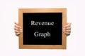 Revenue graph Royalty Free Stock Photo