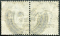The reverse side of a postage stamp Royalty Free Stock Photos