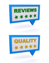 Reviews and quality