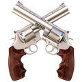 Revolvers Royalty Free Stock Photography