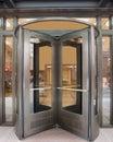 Revolving Door Royalty Free Stock Photo