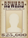 Reward Poster Stock Images