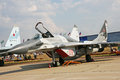 RF - 92929 - Military fighter Russian Air Force Royalty Free Stock Photography