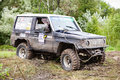 RFC Ukraine Wild Boar Challenge 2016.  Toyota LandCruiser Prado 70. Royalty Free Stock Photo