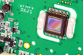RGB CMOS sensor from camera Royalty Free Stock Photo