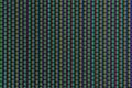 RGB-färgar av en analog avskärmer Arkivfoton