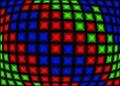 RGB pixels Stock Photo