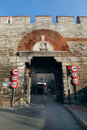 Rhegion Gate in Istanbul Stock Photos