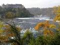 Rheinfall the biggest waterfall in europe switzerland Stock Photo