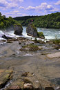Rheinfall Switzerland. Royalty Free Stock Photo
