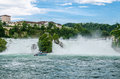 Rheinfall von schaffhausen the largest waterfall in europe Stock Images