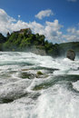 Rhine Falls. Stock Photo