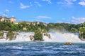 The Rhine Falls Royalty Free Stock Photo