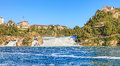 Rhine Falls in summer Royalty Free Stock Photo