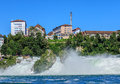 The Rhine Falls waterfall Royalty Free Stock Photo