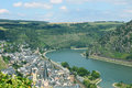 The Rhine Valley Royalty Free Stock Photo