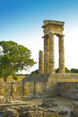 Rhodes Acropolis Royalty Free Stock Images