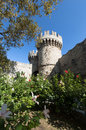 Rhodes castle Royalty Free Stock Photo
