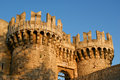 Rhodes Medieval Knights Castle Royalty Free Stock Images