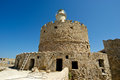 Rhodes Tower of St. Nicholas, Greece Stock Photos