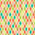 Rhombus Seamless Pattern Stock Images