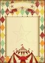 Rhombuses Circus Vintage Backg...