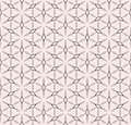 Rhombuses geometric pattern, vector floral seamless texture.