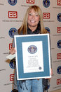Rhonda friedman guinness world records presents the bold and the beautiful with the certification as the most popular daytime tv Stock Images