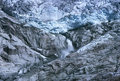 Rhone glacier and spring Royalty Free Stock Photo