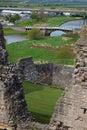 Rhuddlan Castle Royalty Free Stock Photo