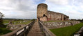 Rhuddlan Castle Royalty Free Stock Photo