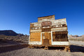 Rhyolite ghost town old mercantile at near death valley nevada Stock Image