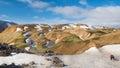 Rhyolite Mountains, Fjallabak ...