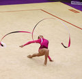Rhythmic Gymnastics World Cup Stock Image